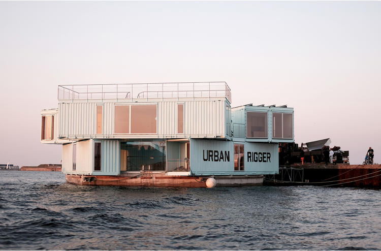 <p>This week the Copenhagen housing startup Urban Rigger completed its first project, a series of floating dorms.</p>