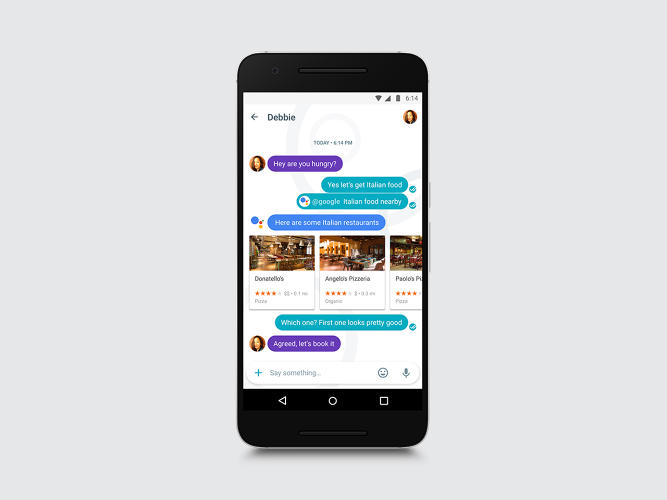 <p>Google launched its AI-assisted messaging app, Allo, today.</p>