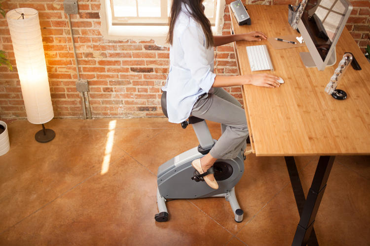 <p>Next Desk thinks that their desk, with the option of standing, will make people even more active.</p>