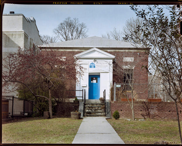 <p>The old Kingsbridge Carnegie library in the Bronx was almost like a little house.</p>