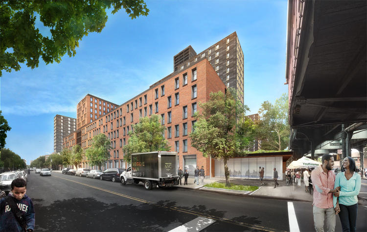 <p>Superblock Retrofit<br /> Project Lead: COMMUNITY SOLUTIONS; Consultants: TERRAPIN BRIGHT GREEN (sustainable design), WE DESIGN (landscape design), ATELIER 10 (environmental engineering), COOKFOX ARCHITECTS (architectural design concept), FORSYTH STREET ADVISORS (financial), JEFF GEISINGER (renderings)<br /> Location: Brownsville neighborhood, Brooklyn, New York<br /> Years: 2014–present</p>