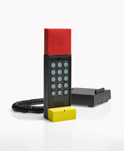 <p>Ettore Sottsass, 'Enorme' Telephone</p>