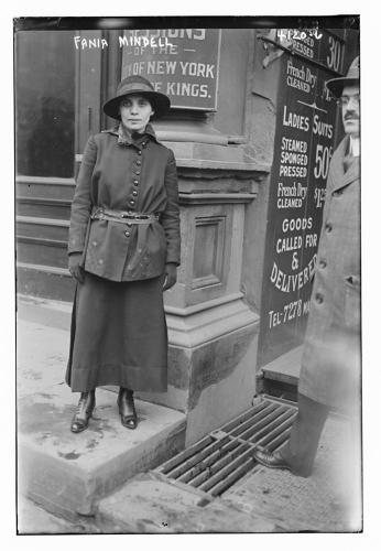 <p>Fania Mindell, pictured here in 1917, helped Margaret Sanger open the first Planned Parenthood clinic, in Brownsville.</p>