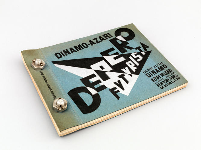 <p><em>Depero Futurista</em> by Italian artist Fortunato Depero is widely considered to be the first artist monograph.</p>
