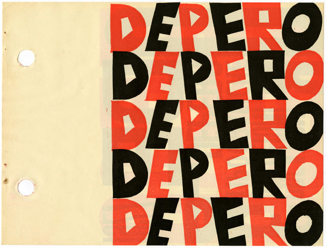 <p>Designer and writer Steven Heller calls Depero's graphic style a mix of &quot;German expressionism with a Mediterranean warmth of color.&quot;</p>