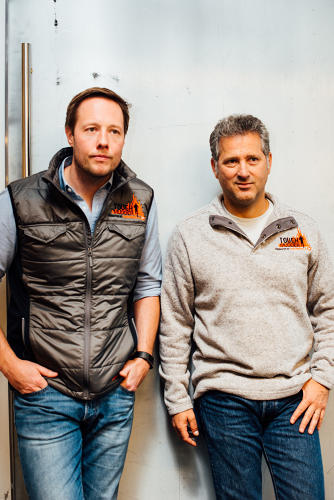 <p>Tough Mudder founder and CEO Will Dean (left) and president Adam Slutsky.</p>