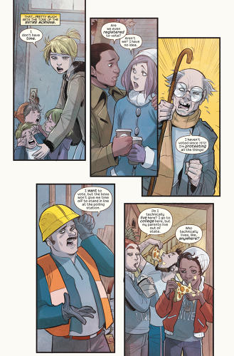 <p>A page from <em>Ms. Marvel</em> #13.</p>