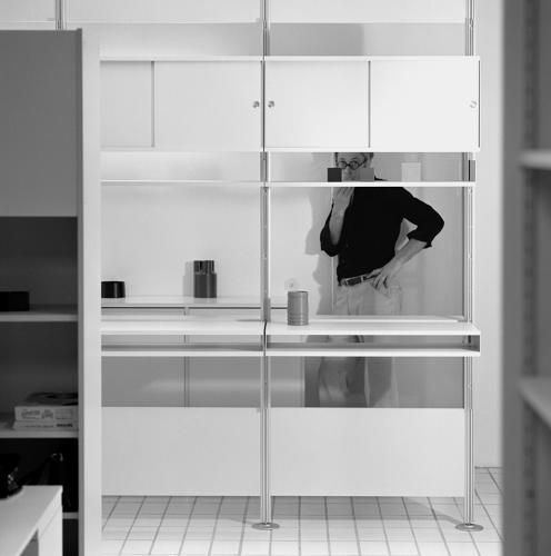 <p>606 Universal Shelving System by Dieter Rams for Vitsoe, ca. 1971-75.</p>
