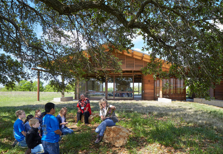 <p>1+ Project: Lake Flato, The Betty &amp; Clint Josey Pavilion</p>
