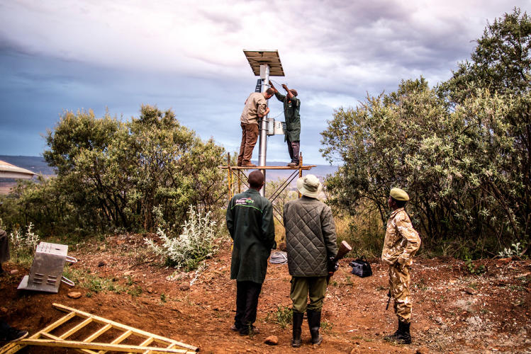 <p>The technology--which World Wildlife Fund started testing in two Kenyans parks in March 2016--has already led to more than 25 arrests.</p>
