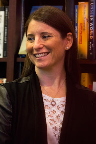 <p>NYC:Tech executive director Julie Samuels.</p>
