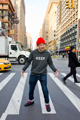 <p>Former Beastie Boy Adam Horovitz.</p>