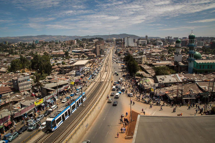 <p>The LRT transports 60,000 passengers per hour and is helping to cut the city's greenhouse gas emissions.</p>