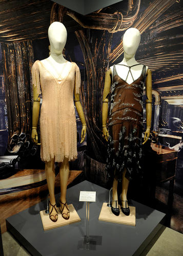 <p>Queenie and Tina Goldstein dresses by legendary costumer designer Colleen Atwood (<em>Fantastic Beasts</em>)</p>