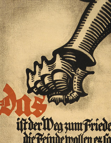 <p>Another image from World War I illustrates hand symbology.</p>