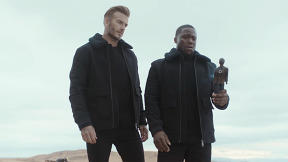 David Beckham And Kevin Hart Reunite For A Road Trip In New H&M Spot