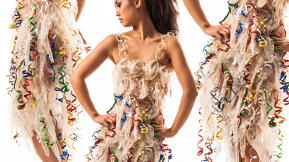 These Dresses Are All Made Out Of Female Condoms