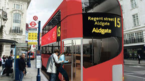 High-Design Public Bus? Maybe in London
