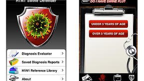 H1N1 iPhone Apps Reach Fever Pitch, Prices Are Nothing to Sneeze At