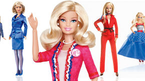 Barbie's New Presidential Look Is Fashion-Forward, But Does She Represent The Modern Feminist?