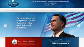 If Mitt Romney Had Won, Is This What His Website Would've Looked Like?