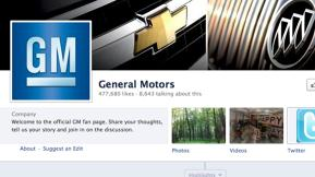 General Motors To Resume Paid Advertising Campaign On Facebook: Report