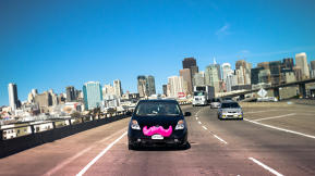 Rideshare Service Lyft Raises $60 Million To Bring Pink Mustachioed Cars To More Cities