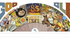 Where The Wild Doodlers Are: Google Celebrates Maurice Sendak's Birthday