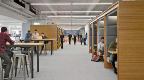 Why Square Designed Its New Offices To Work Like A City