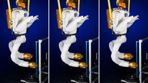 NASA's Space Station Robot Gets Legs