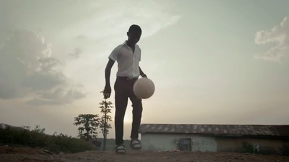 A soccer ball that can provide power to underdeveloped villages.
