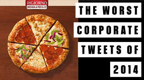 The Worst Corporate Tweets Of 2014