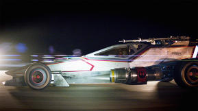 How Mattel Created a Life-Sized Hot Wheels X-Wing Racer For San Diego Comic Con