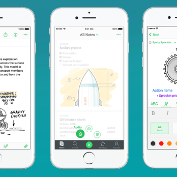 With Its Updated iOS App, Evernote Is Going Back To Note-Taking's Basics