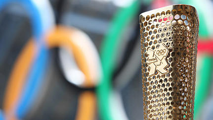 London Olympic Torch Revealed, And It's A Blingy Beaut