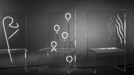 "Famed Theater Director Robert Wilson Designs ""Electric Chairs"" For Kartell"
