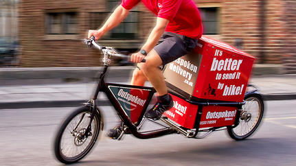 Europe's Wonderful World Of Bike-Based Deliveries