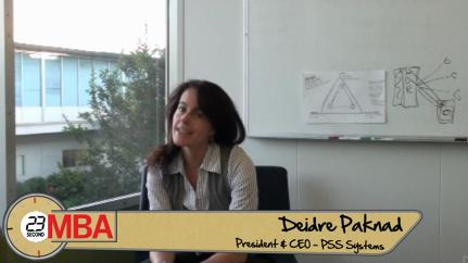 Deidre Paknad: How can you change a company's culture?