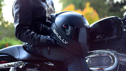 The Google Glass of Motorcycle Helmets?