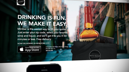 On-Demand Booze: Minibar Will Deliver The Alcohol You Ordered Within 60 Minutes