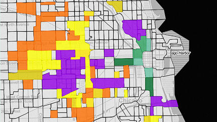 Mapping How Chronic Poverty Has Exploded in American Cities Over the Last 40 Years