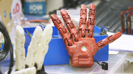 These Superhero-Themed 3-D Printed Robotic Hands Show The Future Of Prosthetics