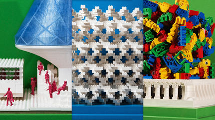 How 10 Architects Used The Same Box Of 1,200 White Legos