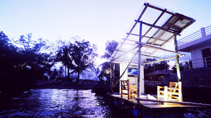 With BOAT Lab, Tech, Art, and Ecology Converge In One Floating Makerspace